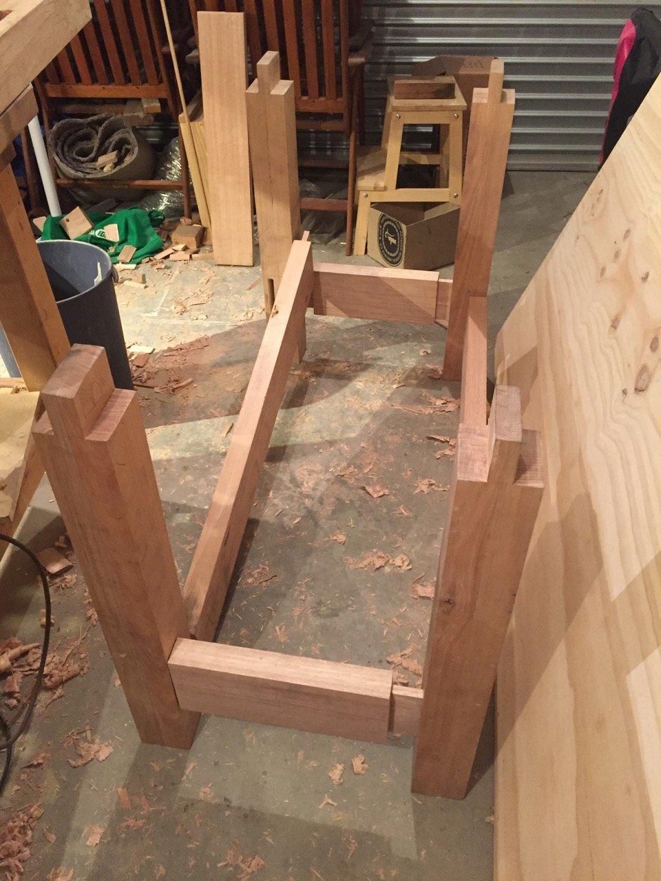 Workbench progress
